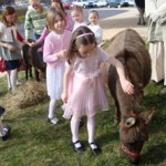 Donkeys are a hit at Easter celebrations